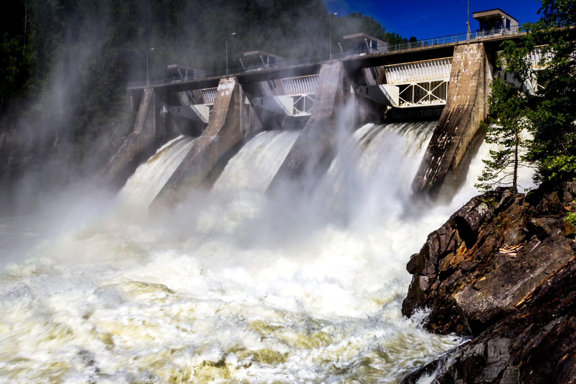 Vattenkraftverket.